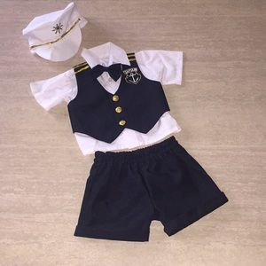Other - Captain outfit! Stretchy and soft! Huge hit!!!